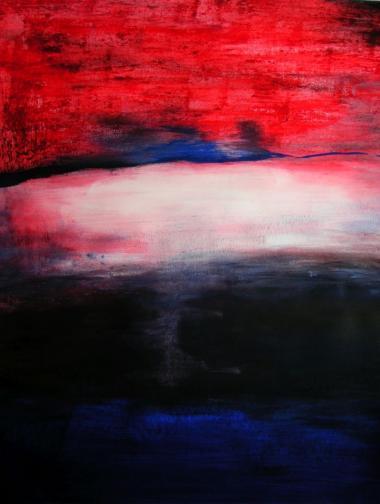 © Miriam Eva Hofmann, Am Anfang, Eitempera auf Papier, 2012