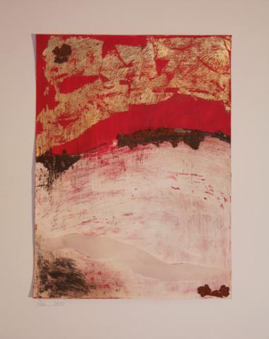 © Miriam Eva Hofmann, Schön ist anders, Acryl und Mixed Media auf Karton, 2010