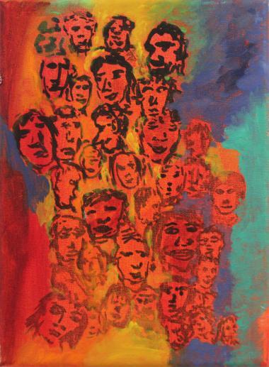"Barbara Gockel - Bild ""On My Mind 1"""