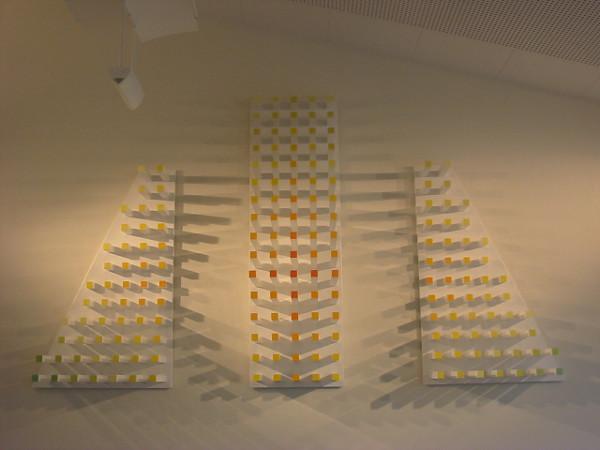 Wandrelief mit verschiedenen Beleuchtungsmöglichkeiten Bettina Specht