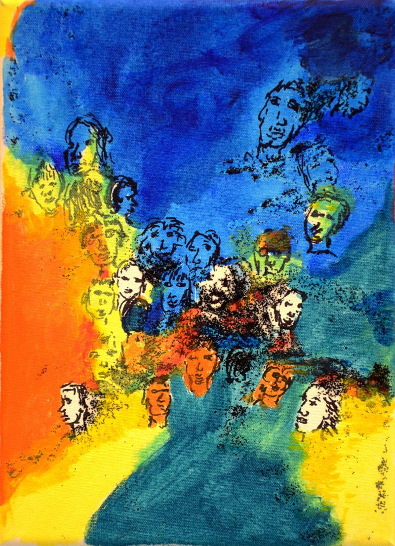 "Barbara Gockel - Bild ""On My Mind 4"""